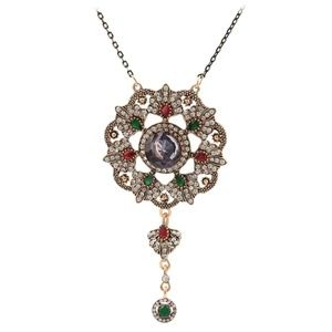 ❗ONLY 3 LEFT❗Vintage Multi-Colored Pendant NK